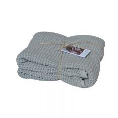 Couverture gaufrée grise Mallino
