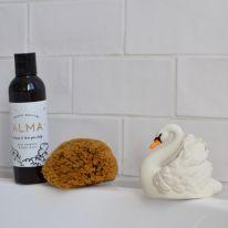 Bath Swan White Natruba
