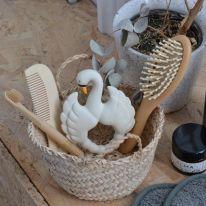 Teether Swan White Natruba