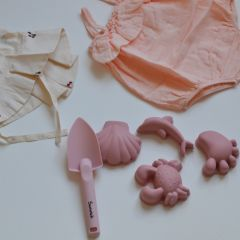 Moulds set of soft pink Scrunch