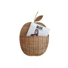Apple Wall Basket Mikanu