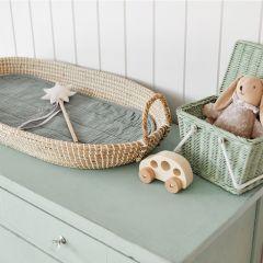 Luxe Organic Cotton Liner Sage Olli Ella