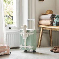 Petite valise à roulettes menthe Olli Ella
