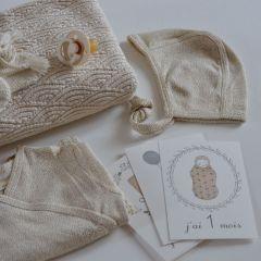 Newborn helmet Caramel mini dots Konges Slojd
