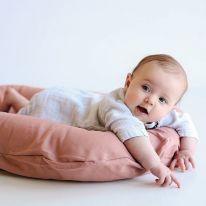 Nid pour bébé rosewood lin Snuggle me organic