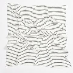 Organic cotton stripes swaddle Bim Bla