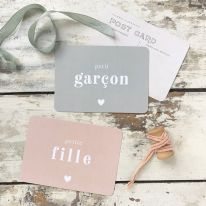"""Carte postale """"petite fille"""" Cinq Mai"""