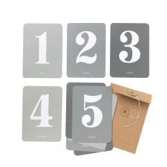 "Baby's first months kit "" my numbers"" CInq Mai"
