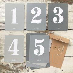 "Cartes étapes ""mes chiffres"" Cinq Mai"