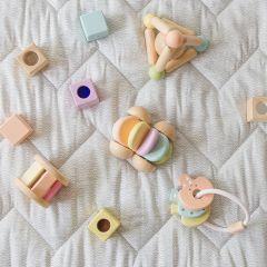 Blocs sensoriels pastels PlanToys