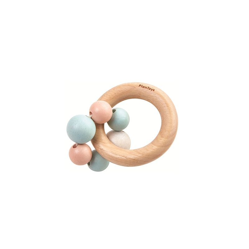 Hochet perles pastel PlanToys