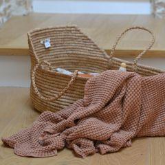 Couverture gaufrée cinnamon Mallino