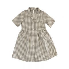 Gingham jeanette dress women Rylee and Cru