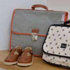 Cartable zak vichy