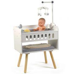 Table à langer pour poupées en bois Minikane