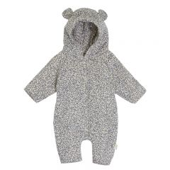 New born onesie with hood blossom Konges Slojd