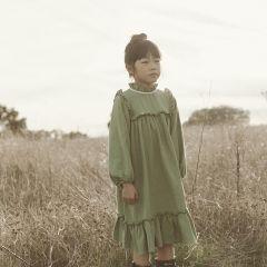 Liana dress olive Liilu