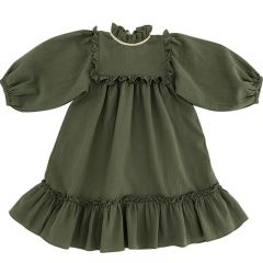 Liana dress olive women Liilu