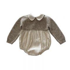 Knitted combi romper Liilu