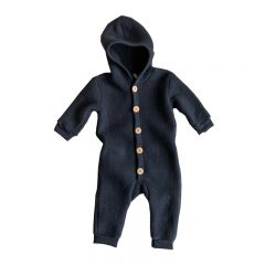 Merino Brushed Wool Suit Graphite Organic Zoo