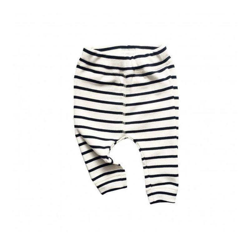 Breton Stripes pants Organic Zoo