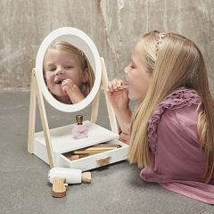 Miroir de table avec tiroir Minikane