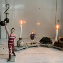 Décoration d'anniversaire train strong man Konges Slojd