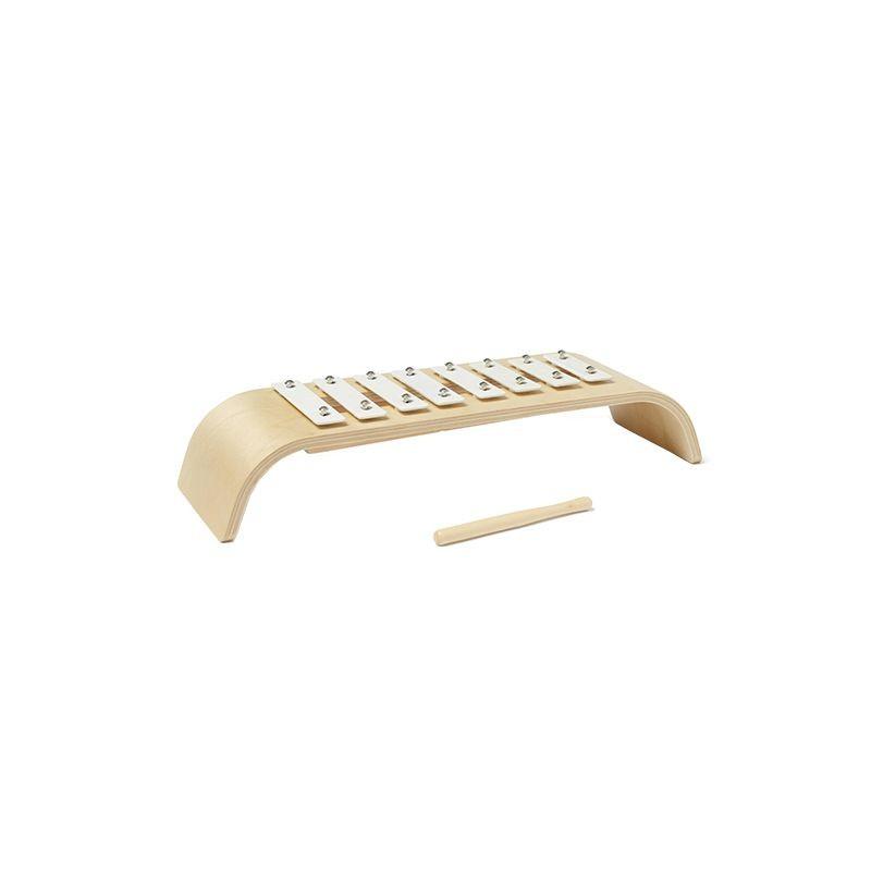Xylophone en bois blanc Kid's Concept
