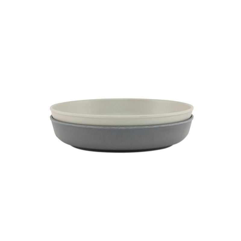 Set de 2 assiettes french grey/midnight Konges Slojd