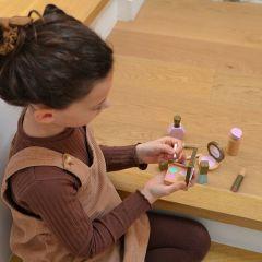 Wooden make-up set Minikane