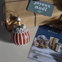 Décoration de Noël Flamant Konges Slojd