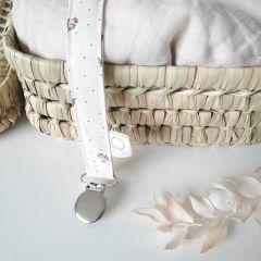 Pacifier strap tulip La Petite Particule