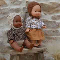 "Doll clothes ""Brune"" Josefien en August"