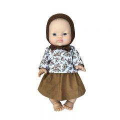 "Doll clothes ""Brune"" Josefien en August"
