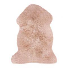 Peau de mouton Rugs rose Binibamba