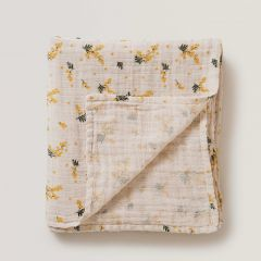 Mimosa muslin swaddle blanket Garbo&Friends