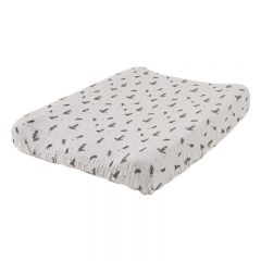 Rosemary muslin changing mat cover Garbo&Friends