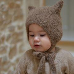 Kitty bonnet brown Bambolina