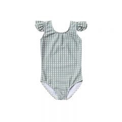 Gingham frill onepiece Rylee and Cru