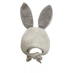 Bunny bonnet ivory Bambolina