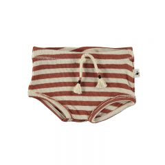 Short baby knit stripe tile