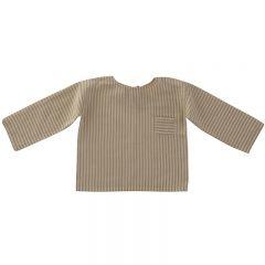 Ovidiu shirt sandy stripes Liilu