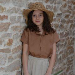 Shirt Oriol linen tile My Little Cozmo