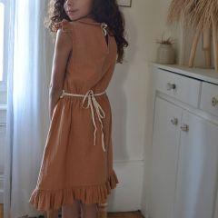 Penelope dress terracotta Liilu