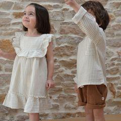 Robe lina à rayures sandy Liilu