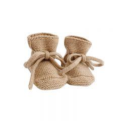 Wool Booties sand Hvid