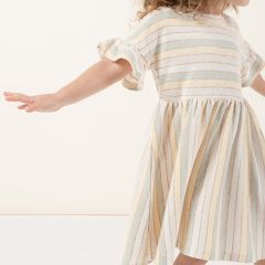 Stripe babydoll dress Rylee and Cru