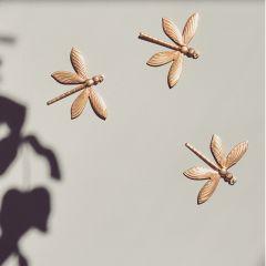 Trio de libellules en laiton Gentil Coquelicot