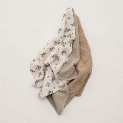 Bluebell muslin burp cloths Garbo&Friends