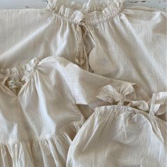 Robe Shiu femme glitter stripes Konges Slojd